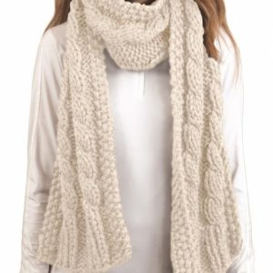 ARIAT CABLE KNIT SCARF
