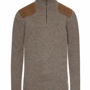 Barbour Men's Netherfield Half Zip Jumper