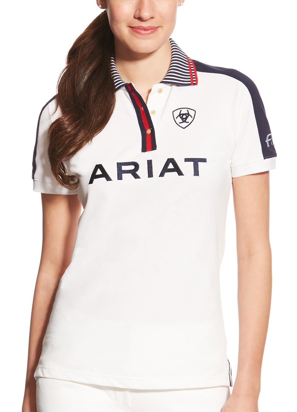ariat_new_team_polo_white