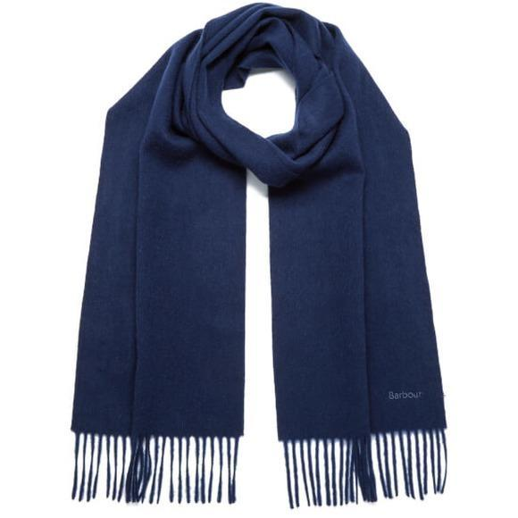 barbour-womens-lambswool-woven-scarf-navy