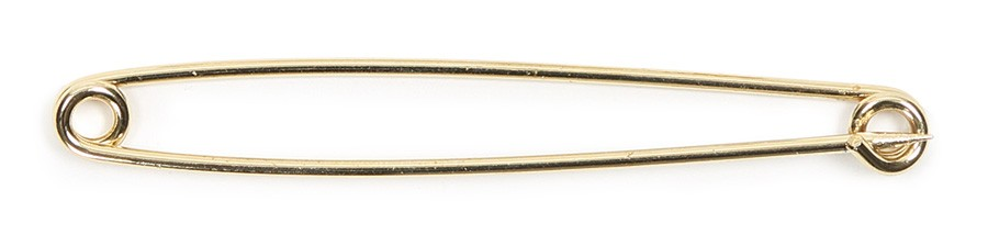 shires gold plated stock pin