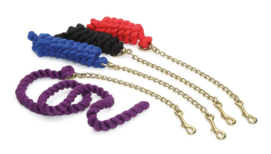 shires lead rein chain