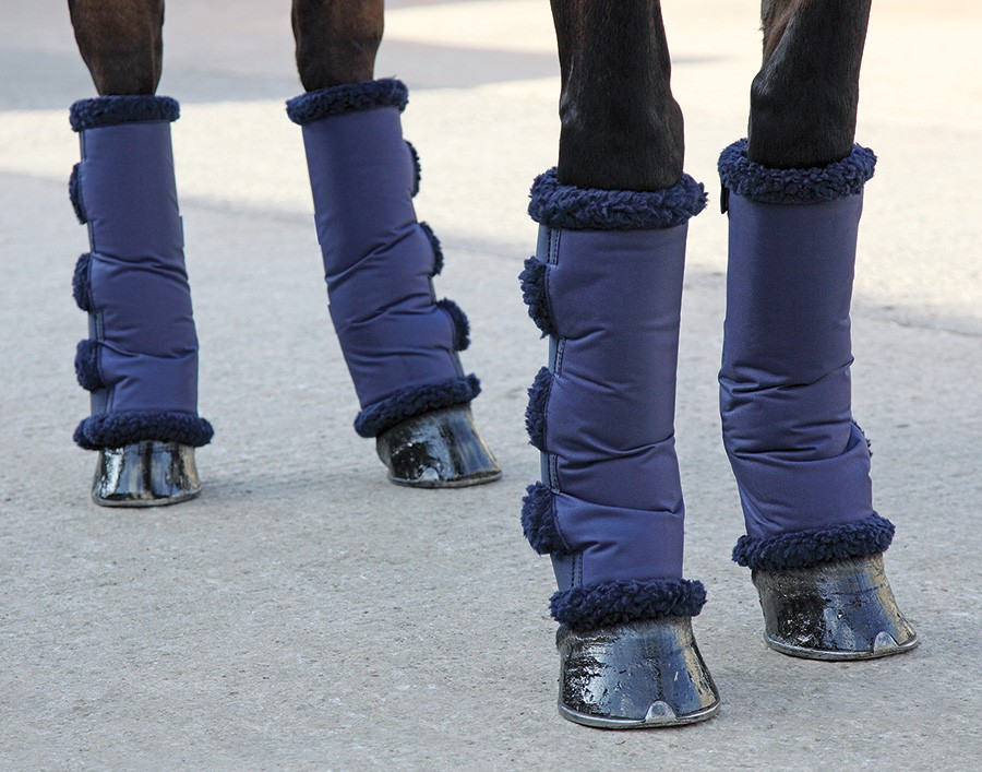 shires short fleece lined travel boots