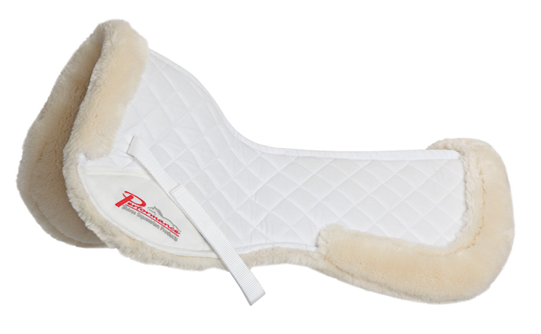 shires supafleece saddlepad natural