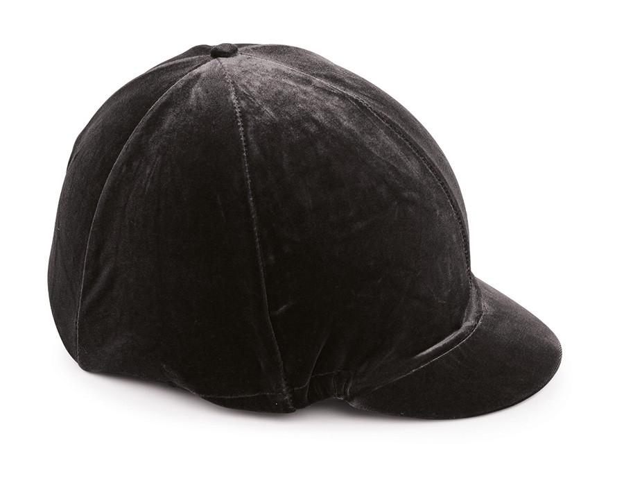 shires velveteen hat cover black