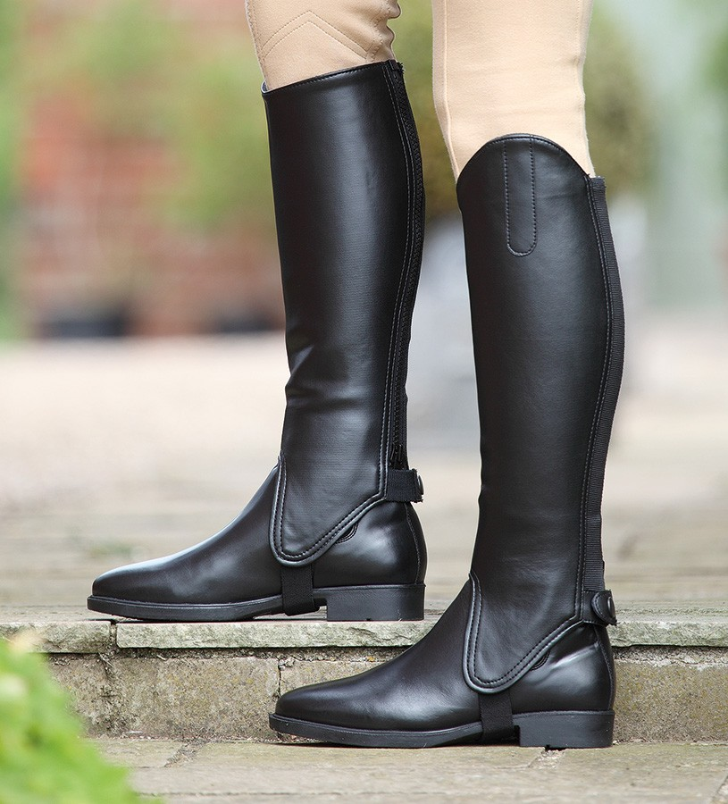 shires_childs_black_synthetic_gaiters