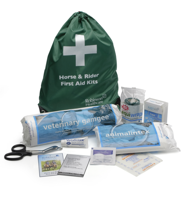 Horse and rider first aid kit