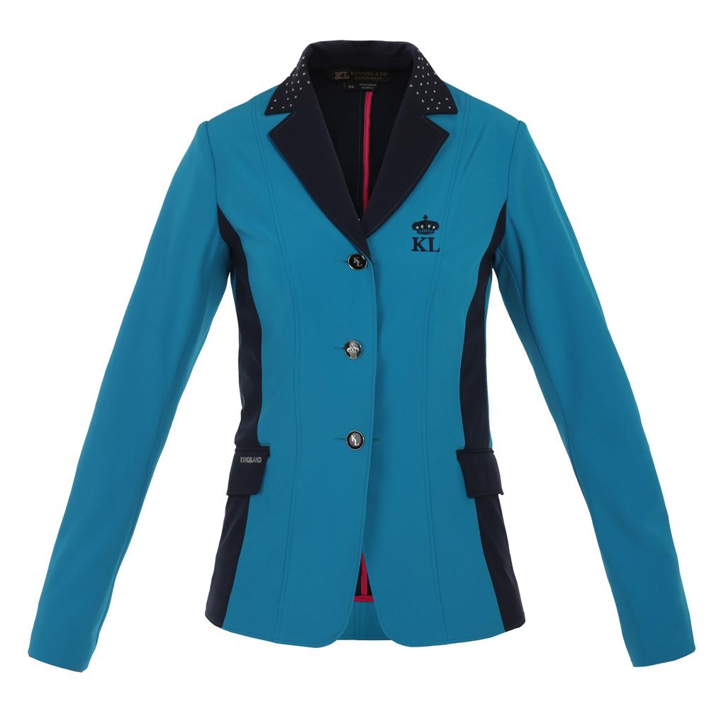 Kingsland-Alma-show-jacket-peacock-blue-front