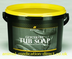 lincoln glycerine tub soap