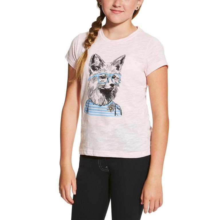 ariat girls foxy tee