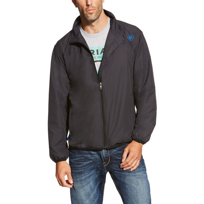 ariat mens ideal windbreaker jacket