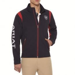 ariat mens new team softshell navy