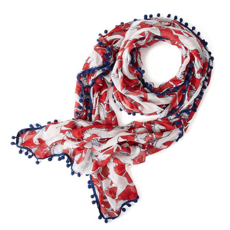 ariat womens team stampede scarf