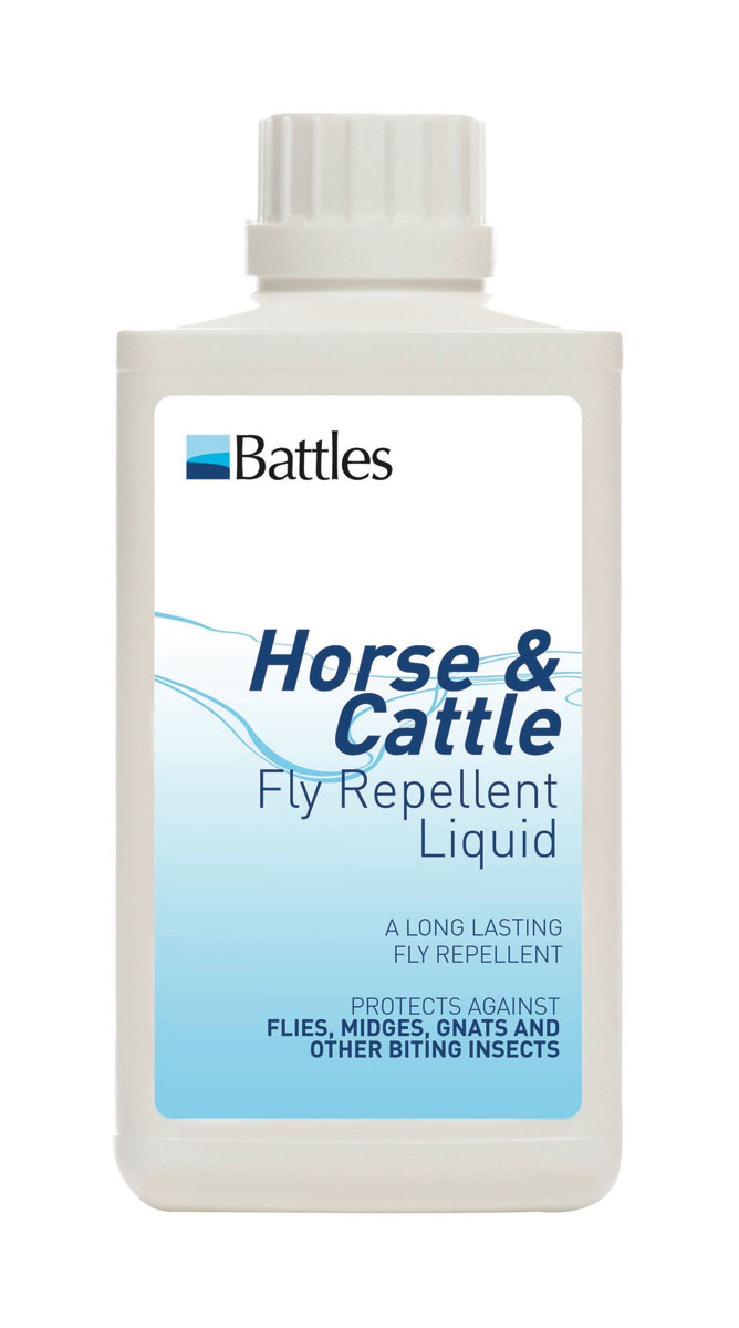 battles horse and cattle fly repellent