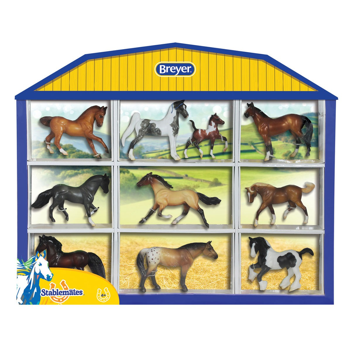 breyer-stablemates-1-32-horse-lovers-collection-shadow-box-d